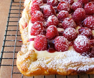 raspberry and food image