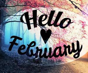 hello february image