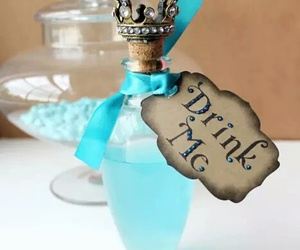 blue, drink me, and drink image