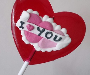 candy, heart, and I Love You image
