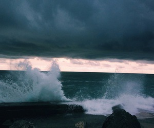 indie, hipster, and ocean image