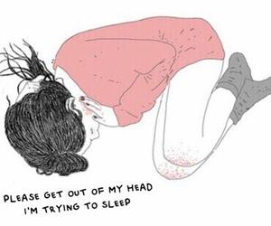 sleep, sad, and quotes image