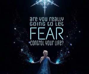 frozen, elsa, and fear image