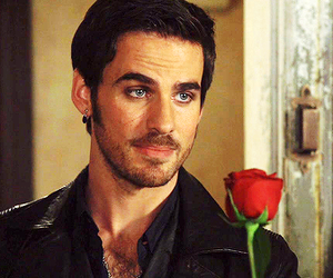 hook, once upon a time, and colin o'donoghue image