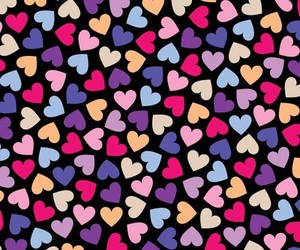 hearts, background, and wallpaper image
