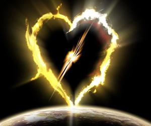 fire and heart image