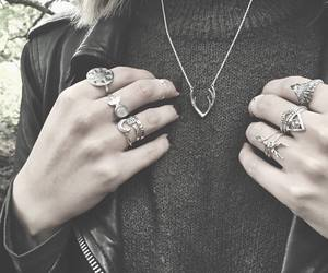 cool, girl, and jewelry image