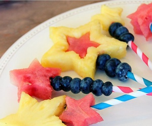 fruit, healthy, and stars image
