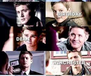 birthday, dean, and happy image