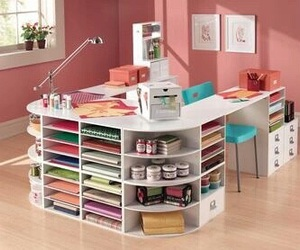 bedroom, organized, and Bureau image