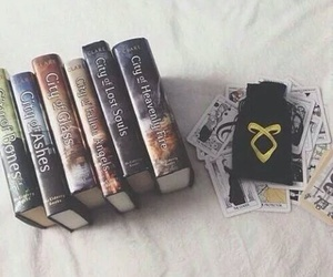 books, city of bones, and city of glass image