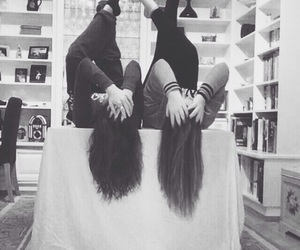 best friends, hair, and love image