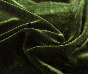 green, velvet, and aesthetic image