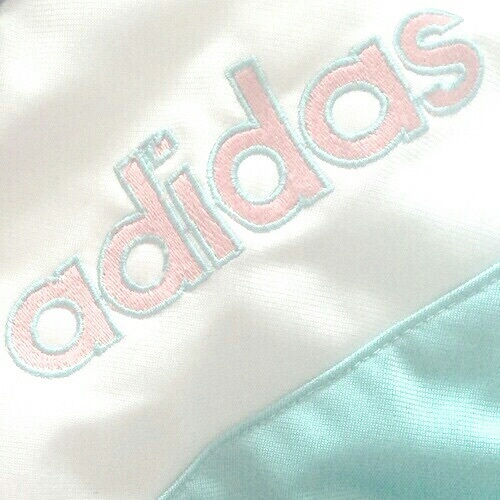 adidas, pink, and pastel image