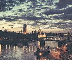 beautiful, dawn, and london image