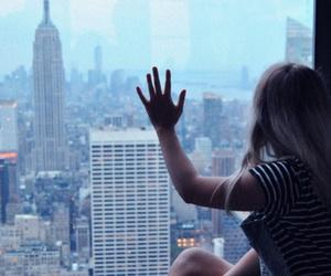 girl, newyork, and ny image