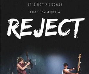 5sos, 5 seconds of summer, and reject image