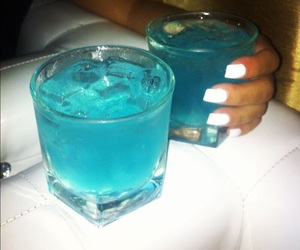 drink, blue, and nails image