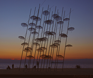 Greece, sunset, and thessaloniki image