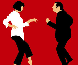 dance, fiction, and pulp image
