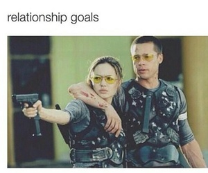 goals, Angelina Jolie, and Relationship image