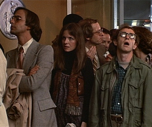 woody allen, diane keaton, and annie hall image