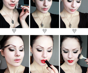 Pin Up, rockabilly, and tutorial image