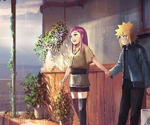 naruto, minato, and kushina image