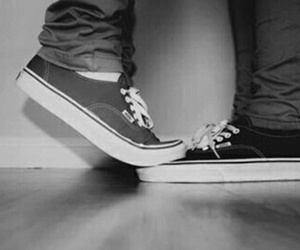 vans, love, and boy image