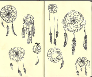 dream catcher, beautiful, and dreamcatcher image