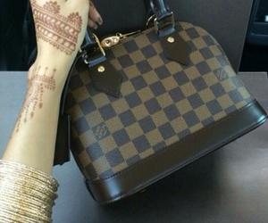 fashion, henna, and Louis Vuitton image