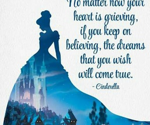 cinderella, quotes, and wish image