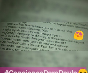 blue jeans, frases, and canciones para paula image