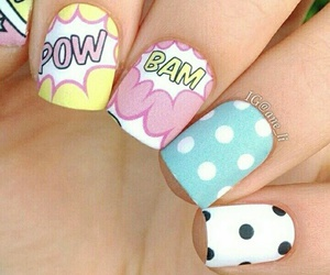 nails, pow, and BAM image
