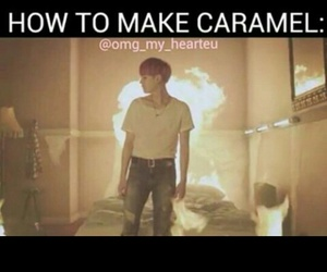 caramel, funny, and kpop image