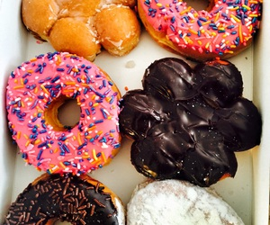 doughnuts, food, and food porn image