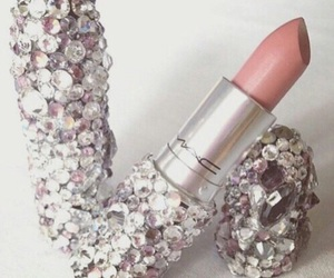 mac, lipstick, and pink image