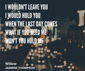 Lyrics, willow, and jasmine thompson image