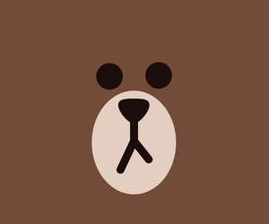 wallpaper, line, and bear image