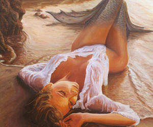 art, cute, and beach image