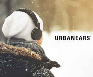 headphones, music, and snow image