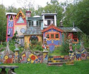 architecture, art, and luna parc image