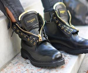 Balmain, shoes, and black image