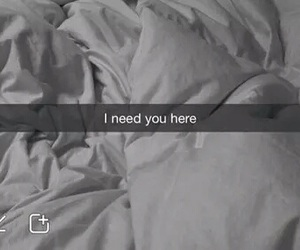love, bed, and snapchat image