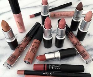 light, lipstick, and mac image