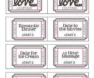 love, coupons, and valentine image