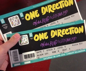concert and one direction image