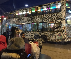 beautiful, buses, and street art image