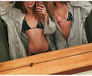 bikini, fashion, and girl image