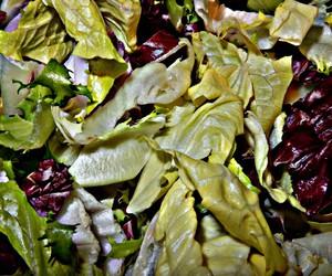 art, salad, and food image